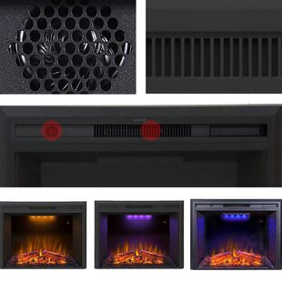 Akar Recessed Electric Fireplace Insert By Latitude Run