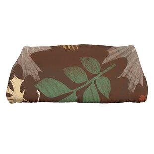 Brookfield Watercolor Leaves Bath Towel