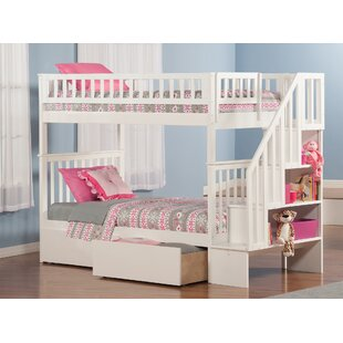Shyann Twin over Twin Bunk Bed with Storage