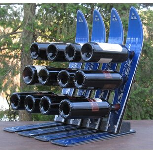 Snow 12 Bottle Tabletop Wine Rack by Ski ..