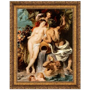 Peter Paul Rubens Peace Embracing Plenty Giclee Canvas Print Poster LARGE SIZE