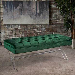 Everly Quinn Calixta Upholstered Bench