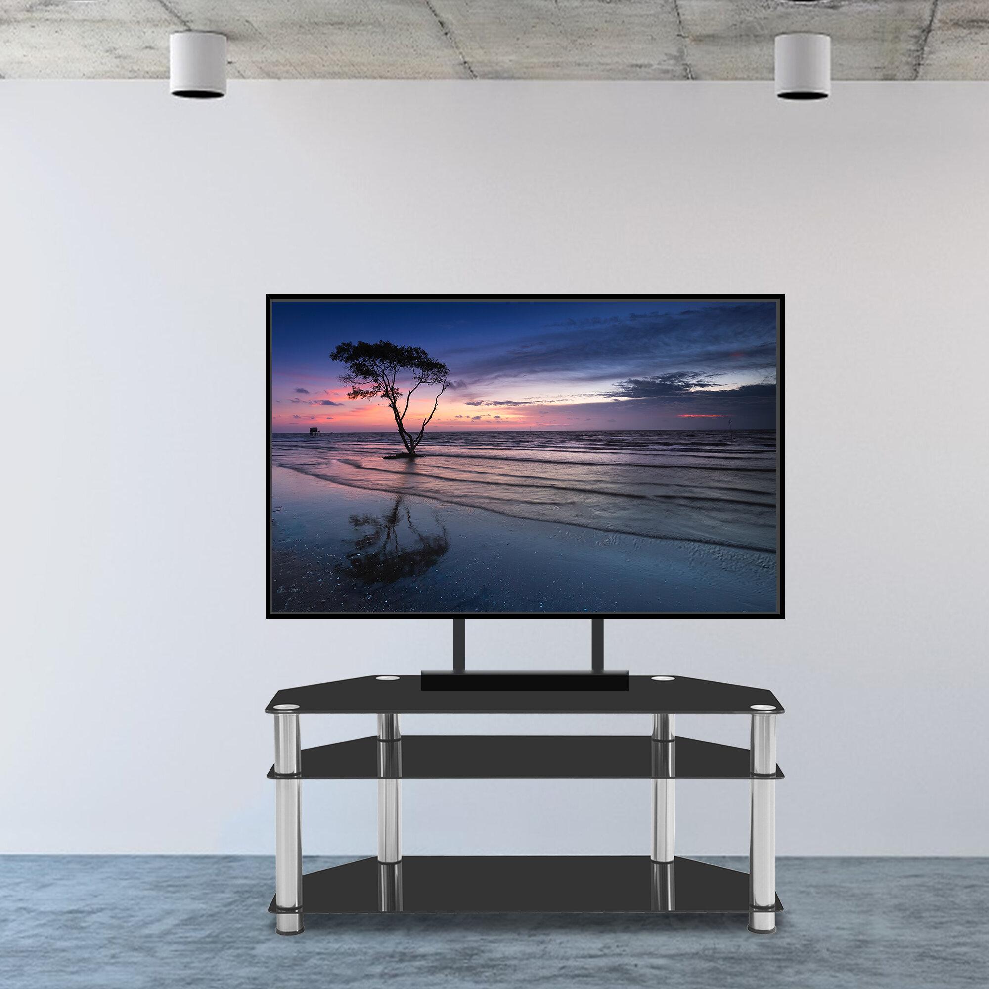 "Orren Ellis Bouvet Corner TV Stand for TVs up to 55"" | Wayfair"
