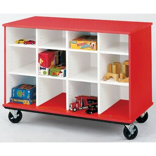 Mobiles 12 Compartment Cubby with Casters By Stevens ID Systems