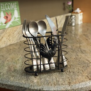 Rooster Cutlery Holder