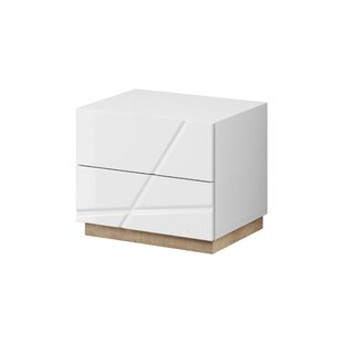Venatici 2 Drawer Nightstand