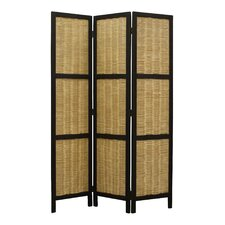 67 x 47 Hudson 3 Panel Room Divider by Screen Gems