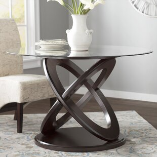 Acres Wood/Glass Dining Table