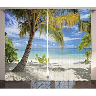 2019 Fashion Tropical Decor Tapestry Paradise Beach With Hammock And Coconut Palm Trees Horizon Coast Vacation Scenery Wall Hanging Bedroom Comfortable And Easy To Wear Home & Garden