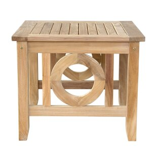 Dustin Solid Wood Side Table by Longshore Tides