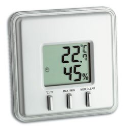 Digital Thermometer And Hygrometer By Symple Stuff