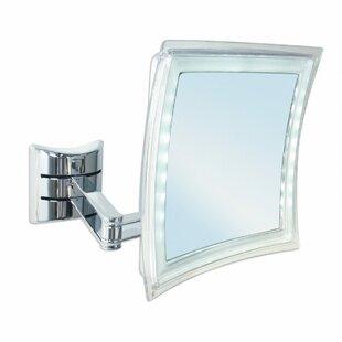 Best Price Manes LED Makeup/Shaving Mirror ByLatitude Run