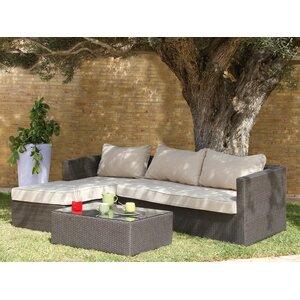 3-Sitzer Ecksofa-Set von Castleton Home