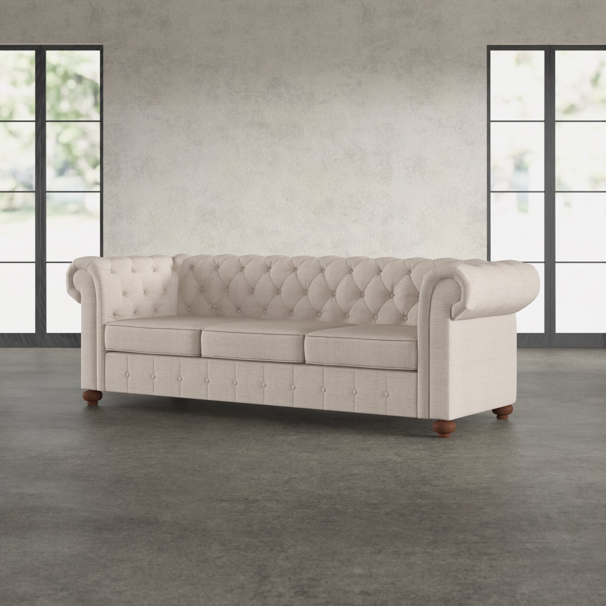 Comfortable Chesterfield Sofa