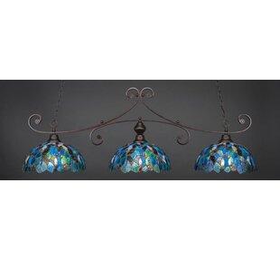 Astoria Grand Copeland 3-Light Billiard Pendant