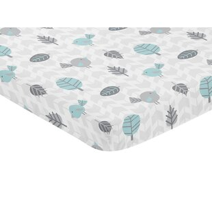 Reviews Earth and Sky Mini Fitted Crib Sheet BySweet Jojo Designs