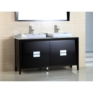 Price Check 60 Double Sink Vanity Set ByBellaterra Home