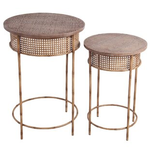 Oakhur End Table Set by Bayou Breeze