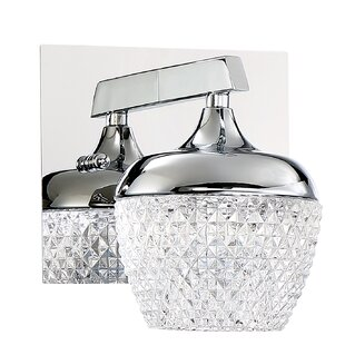 Schneider 1-Light LED Bath Sconce by Rosdorf Park