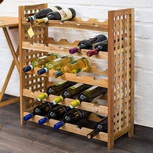 Millicent 25 Bottle Floor Wine Rack By Alpen Home