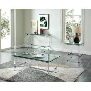 Orren Ellis Baumgartner 3 Piece Coffee Table Set