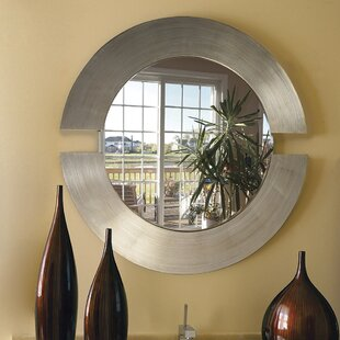 round leather mirror leather wrapped quickview round mirror leather strap wayfair