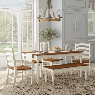 Coffey 6 Piece Dining Set by August Grove Read Reviews