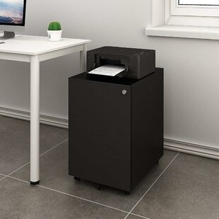 Hambly 3 Drawer Mobile Vertical Filing Cabinet by Symple Stuff