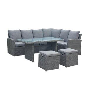 Beehler 8 Seater Rattan Sofa Set Image