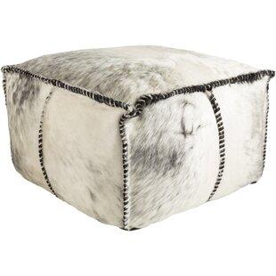 Campion Leather Pouf