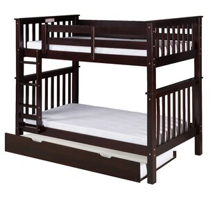 Lindy Mission Bunk Bed with Trundle by Harriet Bee