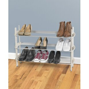 Online Reviews Modular 2-Tier 15 Pair Shoe Rack By Polder Products LLC