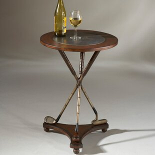 Hobson Golf Round End Table by Astoria Gr..