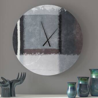 Mid Century Decor Modern Chic 6 Wall Clock Wayfair