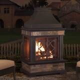 Stupendous Outdoor Fire Chimney Wayfair Download Free Architecture Designs Scobabritishbridgeorg
