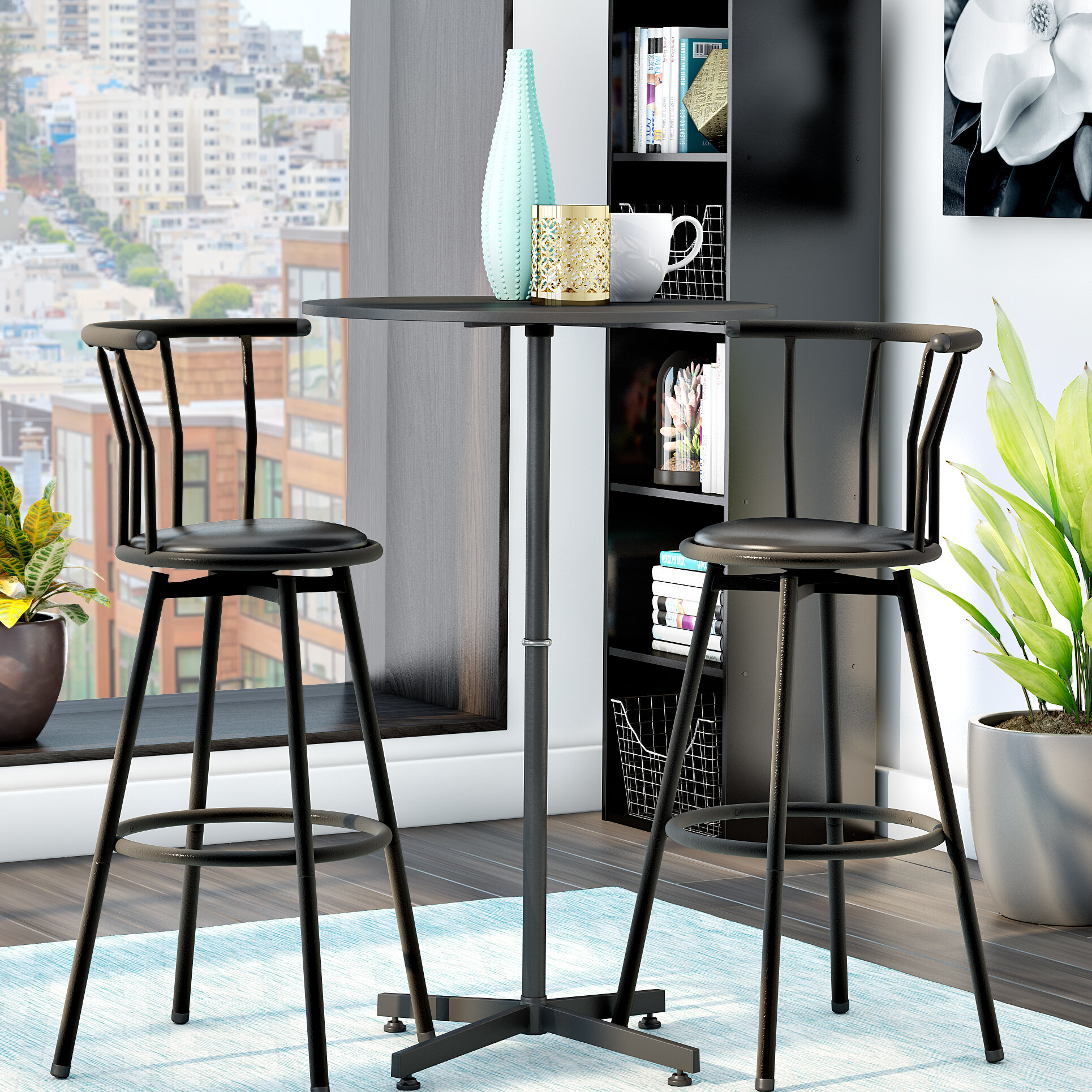 Charmant Zipcode Design Mavis 3 Piece Pub Table Set U0026 Reviews | Wayfair