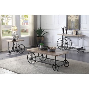 Anabella Living Room 3 Piece Coffee Table Set