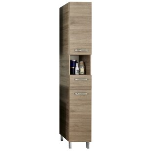 Offenbach 30 X 196cm Free Standing Tall Bathroom Cabinet By Quickset