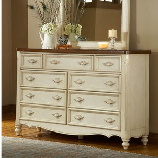 One Allium Way Brecon 9 Drawer Dresser