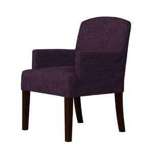 Macon Wood Frame Armchair by Andover Mills