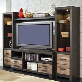 Read Reviews Brockett Entertainment Center for TVs up to 60 by Latitude Run Reviews (2019) & Buyer's Guide