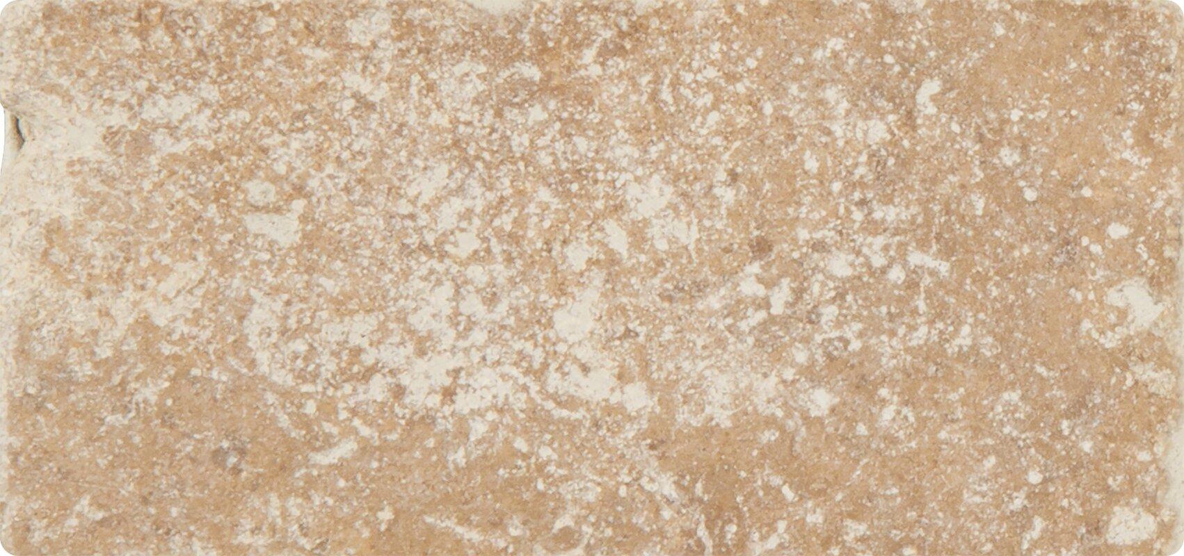 Msi tuscany walnut 3 x 6 travertine subway tile in tumbled tuscany walnut 3 x 6 travertine subway tile in tumbled brown doublecrazyfo Gallery