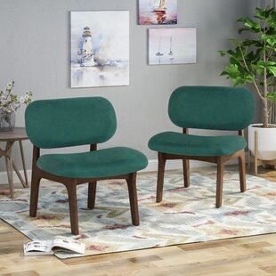 Bohannon Upholstered Dining Chair (Set of 2) Corrigan Studio