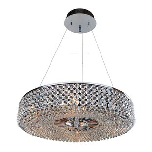 Arche 9-Light Crystal Chandelier by Allegri by Kalco Lighting