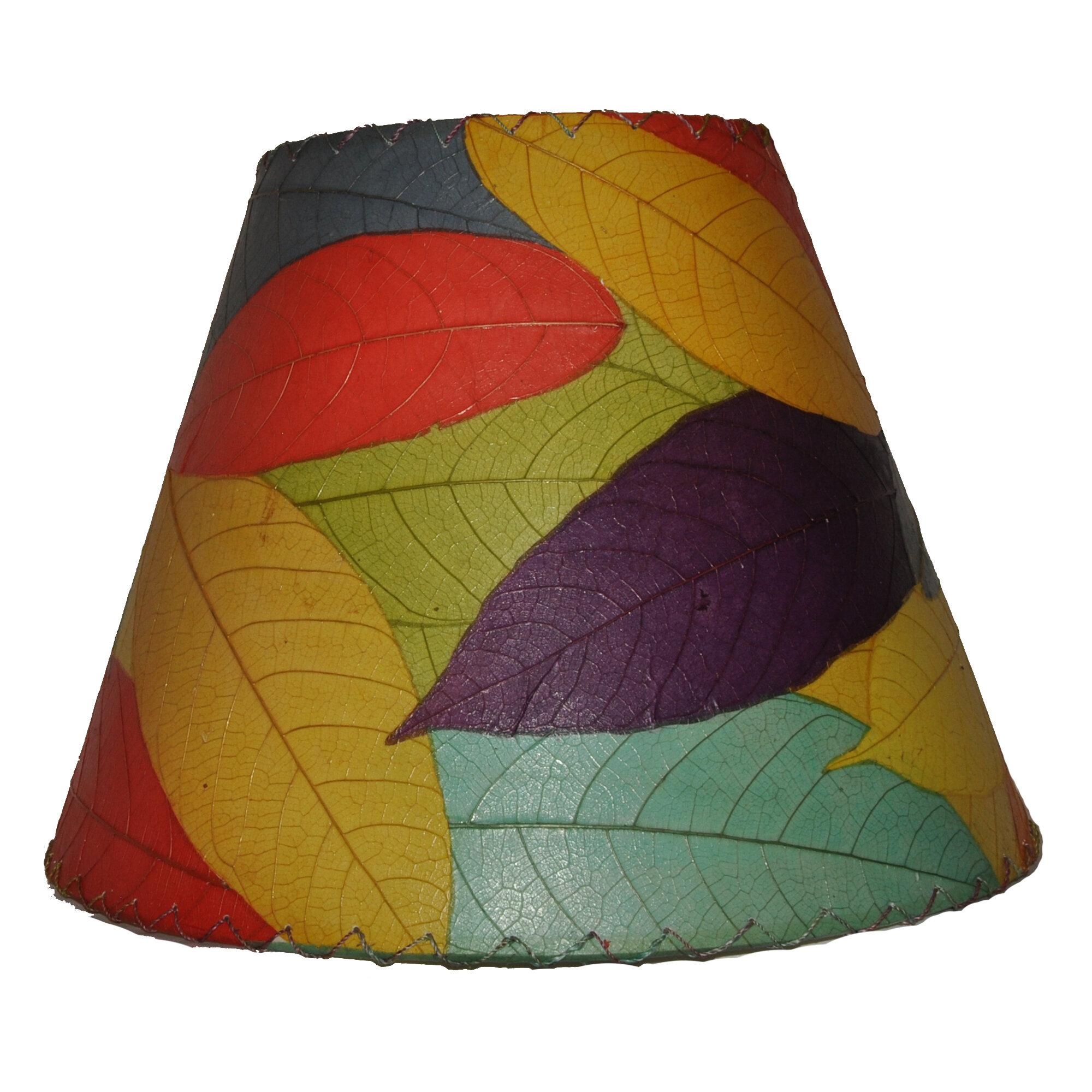 Eangee home design 16 cocoa leaf empire lamp shade reviews wayfair aloadofball Images