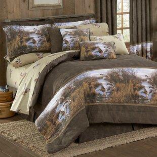 Millwood Pines Talbott Duck Approach Cotton 4 Piece Comforter Set