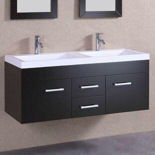 48 Double Modern Vanity Set by Belvedere Bath