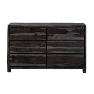 Tisha 6 Drawer Double dresser
