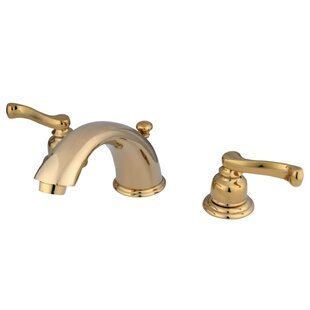 Affordable Price Widespread Bathroom Faucet with Drain Assembly ByKingston Brass