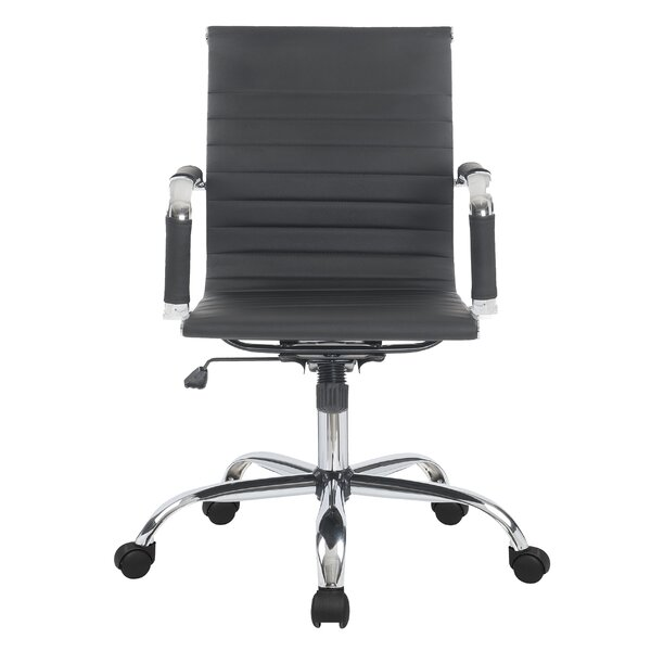 Phenomenal Modern Contemporary High Back Leather Office Chair Allmodern Gmtry Best Dining Table And Chair Ideas Images Gmtryco